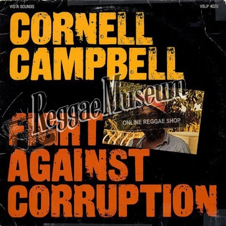 Cornell Campbell - Fight Against Corruption - Vista Sounds LP