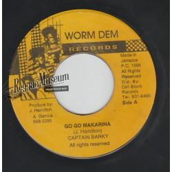 """Captain Barkey - Go Go Makarina - Worm Dem 7"""""""