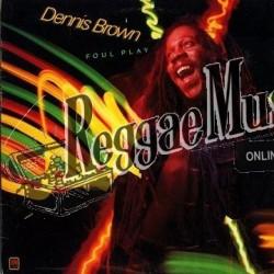 Dennis Brown - Foul Play - A&M LP