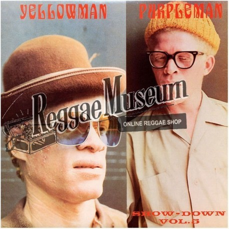 Yellowman & Purpleman - Show Down Vol 5 - Channel One LP