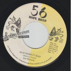 "Joe Mannix - Nuh Dash It Way - 56 Hope Road 7"""