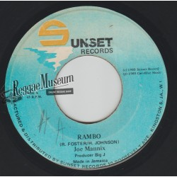 Joe Mannix - Rambo - Sunset 7""
