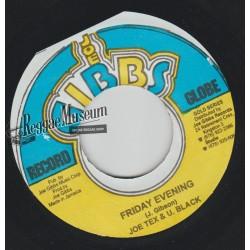 "Joe Tex & U Black - Friday Evening - Joe Gibbs 7"""