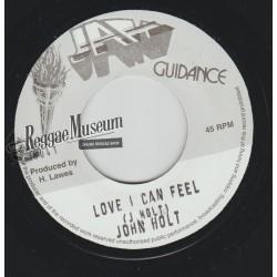 "John Holt - Love I Can Feel - Jah Guidance 7"""