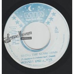 "Johnny Osbourne - Bring The Sensi Come - Midnight Rock 7"""