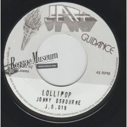 "Johnny Osbourne - Lollipop - Jah Guidance 7"""