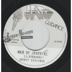 "Johnny Osbourne - Man Oj Jahoviah - Jah Guidance 7"""