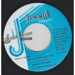 """Johnny Osbourne - No Sound Like We - Jammys 7"""""""