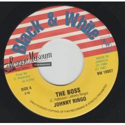"""Johnny Ringo - The Boss - Black & White 7"""""""
