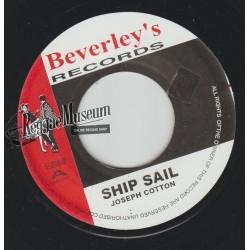 "Joseph Cotton - Ship Sail - Beverleys 7"""