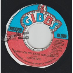 Junior Reid - Babylon Release The Chain - Joe Gibbs 7""