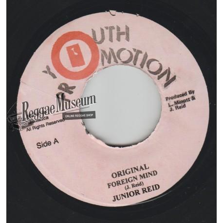 "Junior Reid - Original Foreign Mind - Youth Promotion 7"""