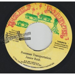 Junior Reid - Poorman Transportation - Rockers Forever 7""
