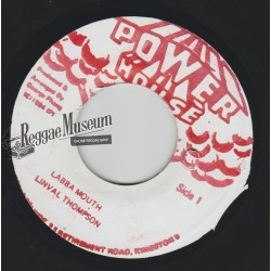 Linval Thompson - Labba Mouth - Power House 7""