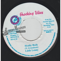 "Little Lenny - Healty Body - Shocking Vibes 7"""