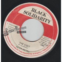 Peter Metro - The Visit - Black Solidarity 7""