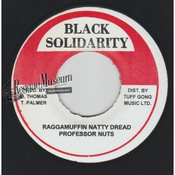 Professor Nuts - Raggamuffin Natty Dread - Black Solidarity 7""