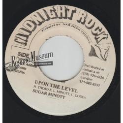 "Sugar Minott - Upon The Level - Midnight Rock 7"""