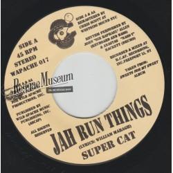 "Super Cat - Jah Run Things - Wild Apache 7"""