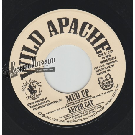 Super Cat - Mud Up - Wild Apache 7""