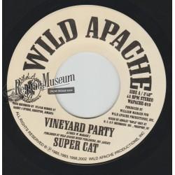 """Super Cat - Vineyard Party - Wild Apache 7"""""""