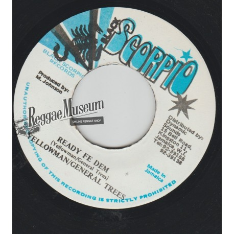 """Yellow Man & Fat Head - Come We Just A Come - Dynamite 7"""""""