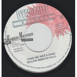 Yellow Man & General Trees - Ready Fe Dem - Black Scorpio 7""