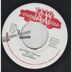 Yellowman - Rhythm A Gallop - Taxi 7""