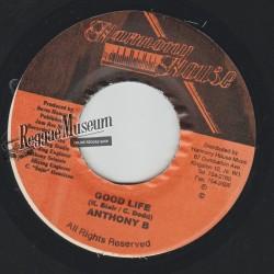 "Anthony B - Good Vibes - Harmony House 7"""""