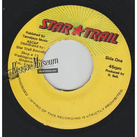 "Anthony B - Raid Di Barn - Star Trail 7"""""