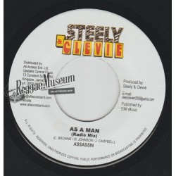 Assassin - As A Man - Steely & Cleevie 7""""