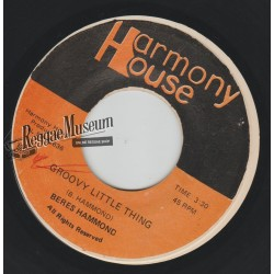 Bers Hammond - Groovy Little Thing - Harmony House 7""""