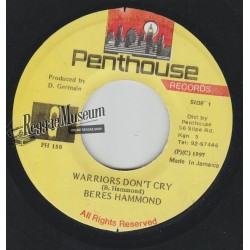 "Beres Hammond - Warriors Dont Cry - Penthouse 7"""""