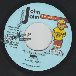 Bounty Killer - Cellular Phone - John John 7""""