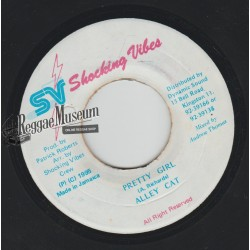 Alley Cat - Pretty Girl - Shocking Vibes 7""