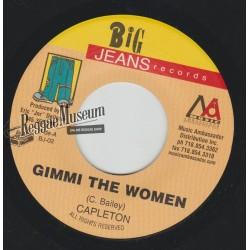 "Capleton - Gimmi The Women - Big Jeans 7"""""