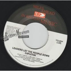 """Capleton - Leaders Let The People Down - VP 7"""""""""""