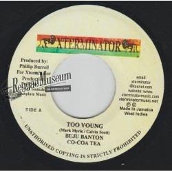 Cocoa Tea & Buju Banton - Too Young - Xterminator 7""""