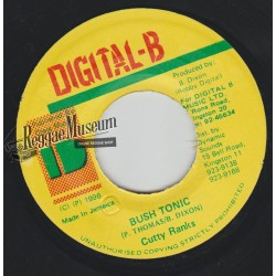 "Cutty Ranks - Bush Tonic - Digital B 7"""""