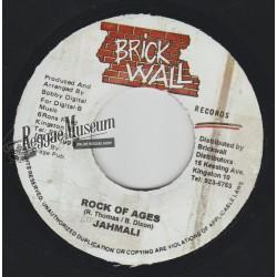 "Jahmali - Rock Of Ages - Brick Wall 7"""""