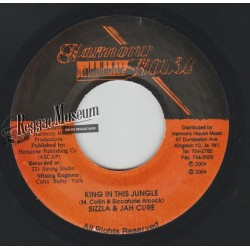 """Sizzla & Jah Cure - King In This Jungle - Harmony House 7"""""""""""