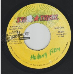 Sizzla - Holding Firm - Star Trail 7""""