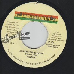 Sizzla - Strength & Hope - Xterminator 7""""