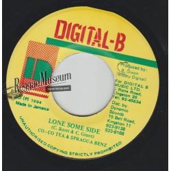 "Cocoa Tea & Spragga Benz - Lone Some Side - Digital B 7"""""