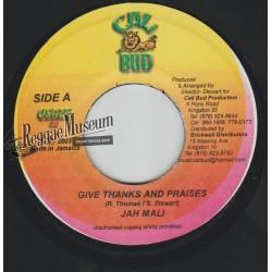 "Jahmali - Give Thanks And Praises - Cali Bud 7"""""