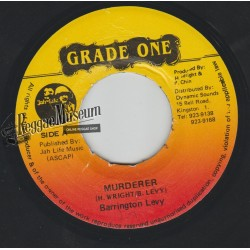 Barrington Levy - Murderer - Grade One 7""""