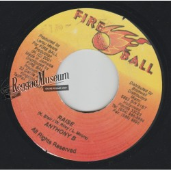 Anthony B - Raise - Fire Ball 7""""
