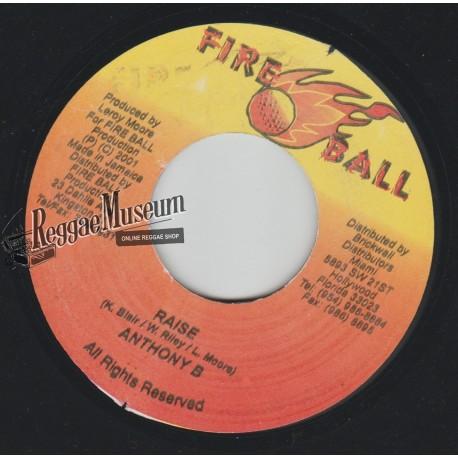"Anthony B - Raise - Fire Ball 7"""""