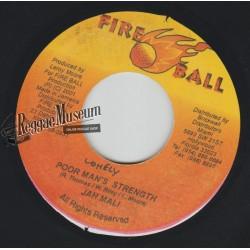 "Jahmali - Poor Mans Strength - Fire Ball 7"""""