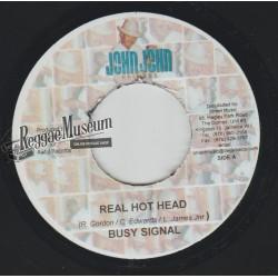"Busy Signal - Real Hot Head - John John 7"""""